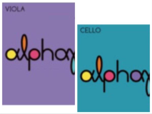 「アルファユー」ビオラ用、チェロ用のご紹介